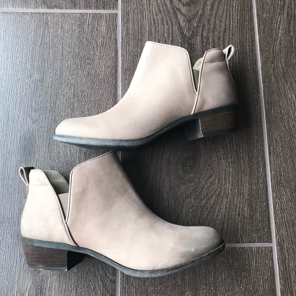 184772fa5618 New BP Francine Split Shaft Leather Bootie 6 6.5
